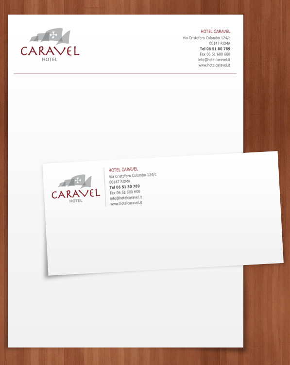 Clan Group Project Caravel Hotel Letterhead
